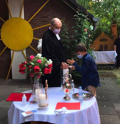 Taufe im Garten 2